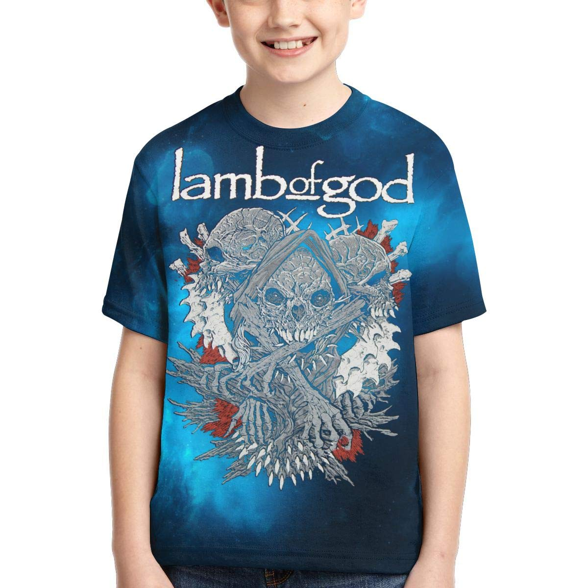 Caiyuzhuanmai Boys,Girls,Youth Lamb God T Shirts
