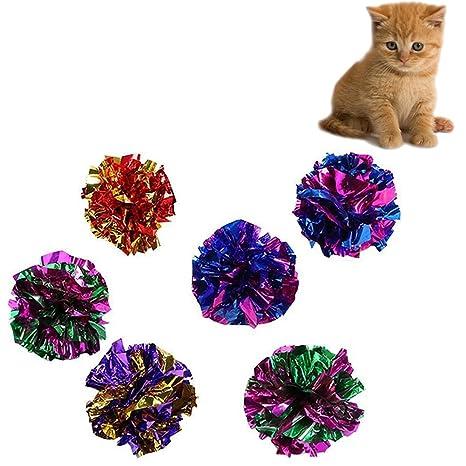 Chytaii - Juego de pelotas de juguete interactivas para gatos ...