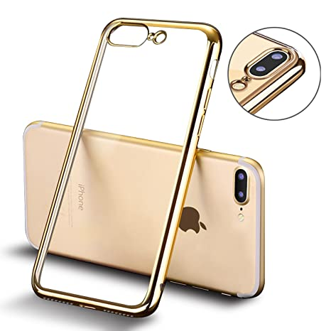 custodia iphone 8 gold
