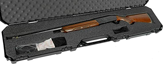 Case Club Sporting & Tactical Shotgun Cases with Waterproof Accessory Case and Silica Gel to Help Prevent Gun Rust