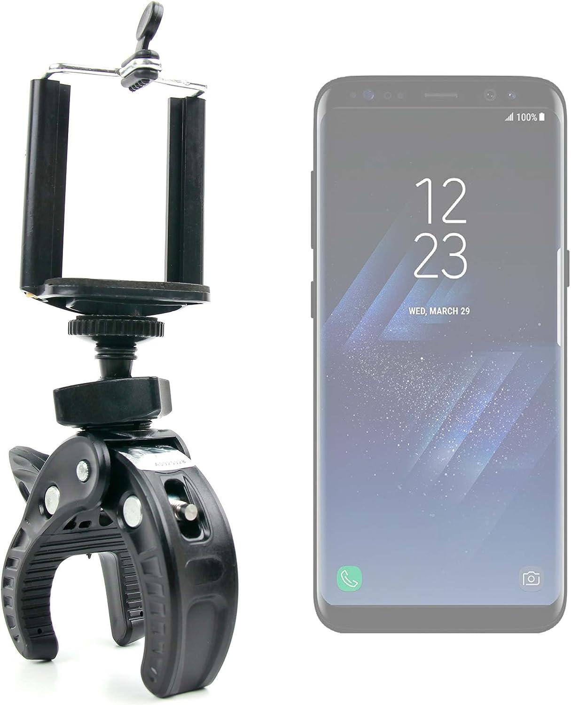 DURAGADGET Soporte Universal Tipo Pinza para Manillar de Bicicleta para Smartphone Samsung Galaxy C9 Pro, Samsung Galaxy J7 (2017), Samsung Galaxy S8, Samsung Galaxy S8+: Amazon.es: Electrónica
