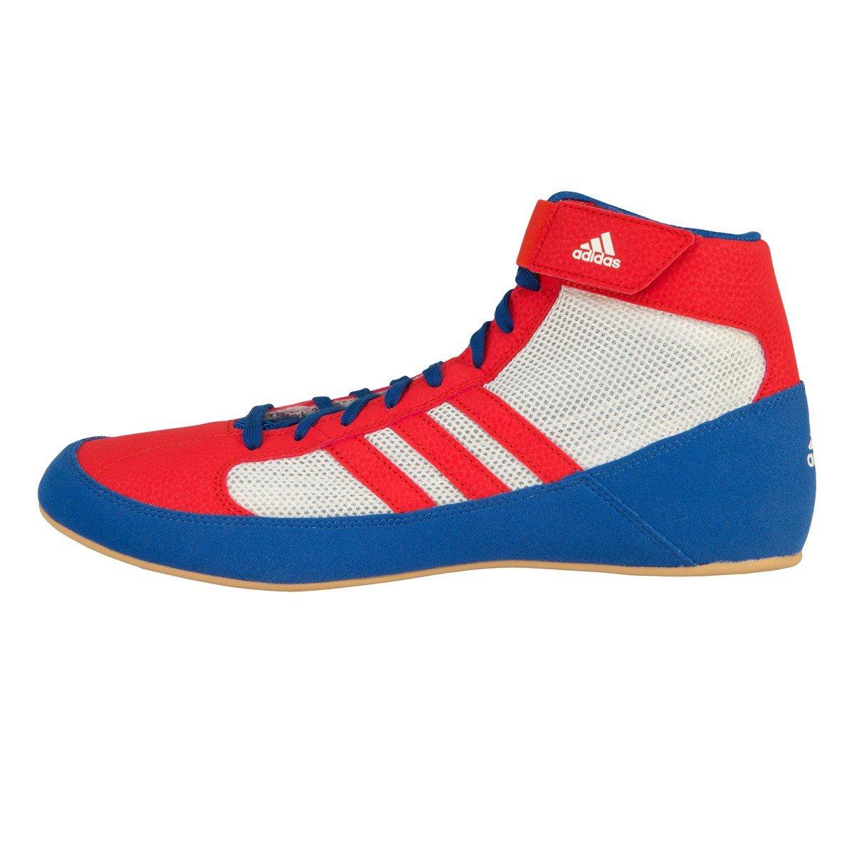 d83c92fffc7 Amazon.com  adidas Men s Boy s HVC2 Wrestling Mat Shoe Ankle Strap 2 Colors  AQ3325  Clothing
