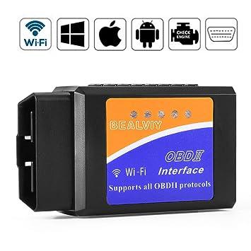 OBD2 Wifi, Bambud Diagnóstico OBD2, Adaptador Wifi OBD2 ios, OBDII, OBD2 Escáner