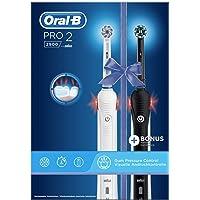Oral-B Pro 2 2900 Elektrisk Tandborste, 2 st, Vit/Svart