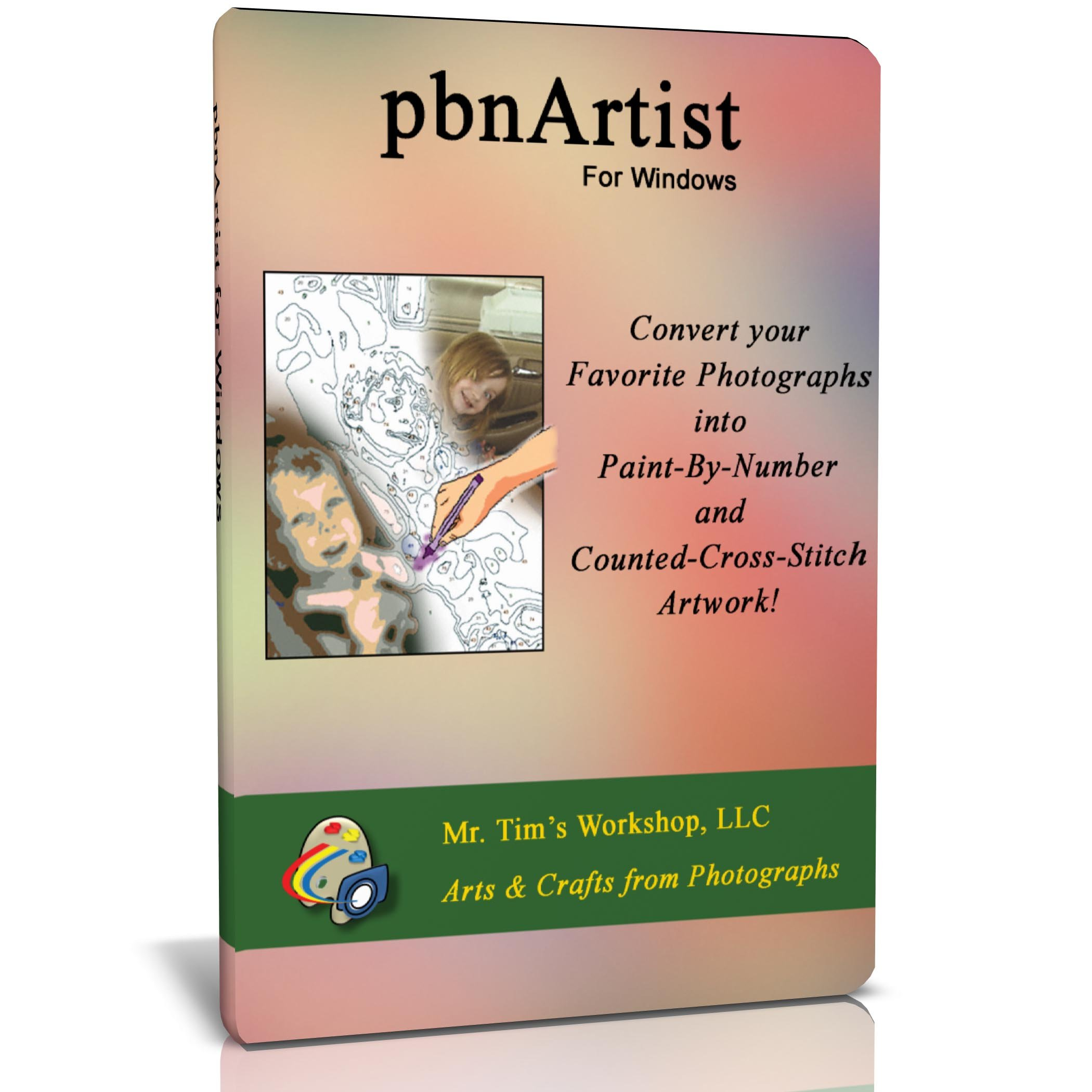 Pbnartist(Tm) Advanced For Windows - Paint By Numbers And Cross Stitch Softwa.. 18