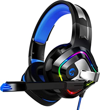 ZIUMIER Auriculares Gaming con Microfono para PS4, PC, Xbox One ...