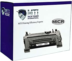 MICR Toner International Compatible Magnetic Ink Cartridge Replacement for HP 90A CE390A Laserjet M601 M602 M603 M4555