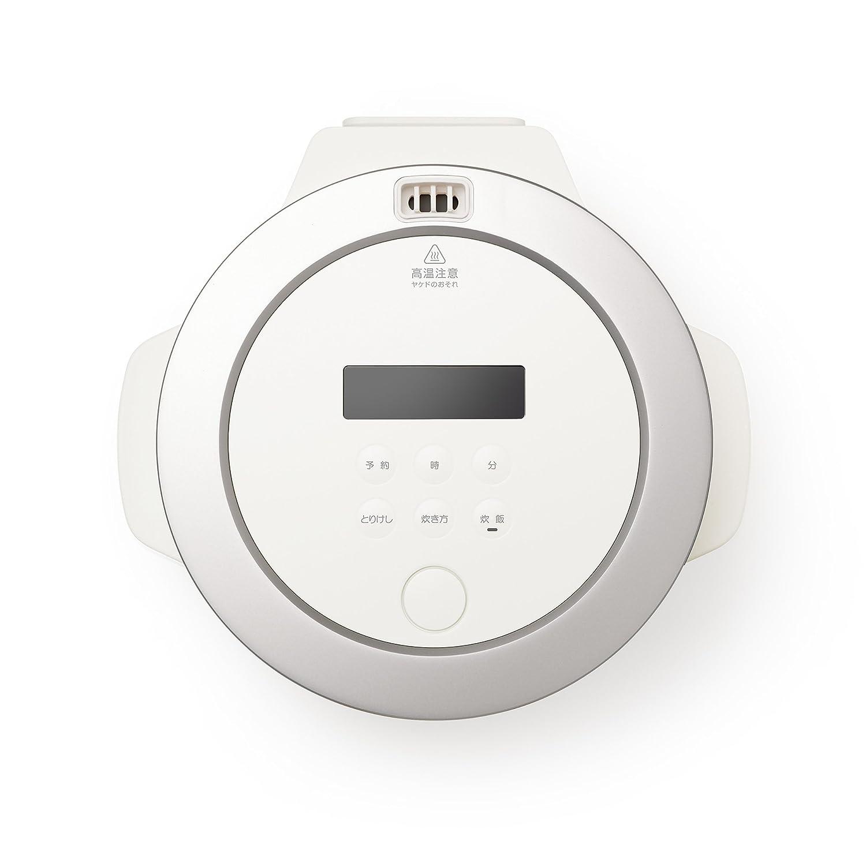 BALMUDA 3Go 450 g electric cooker The Gohan K03A-WH White