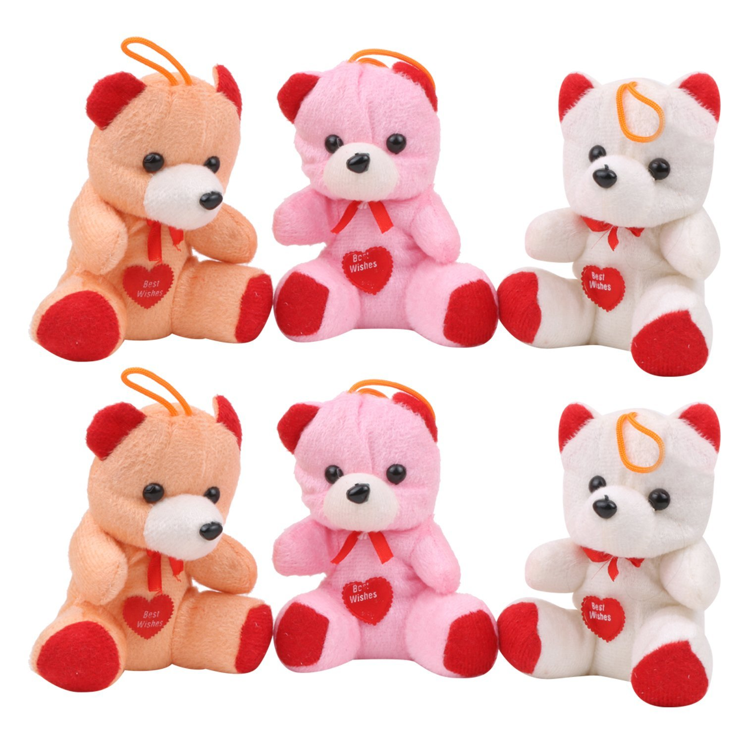 buy glitter collection tm cute teddy bear combo 6 pcs online at