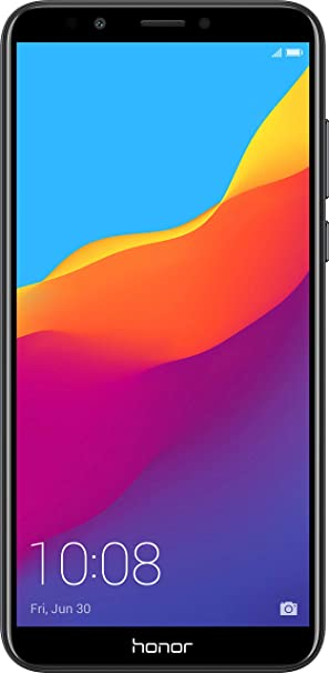 Honor 7C (Black, 3GB RAM, 32GB Storage) Smartphones at amazon