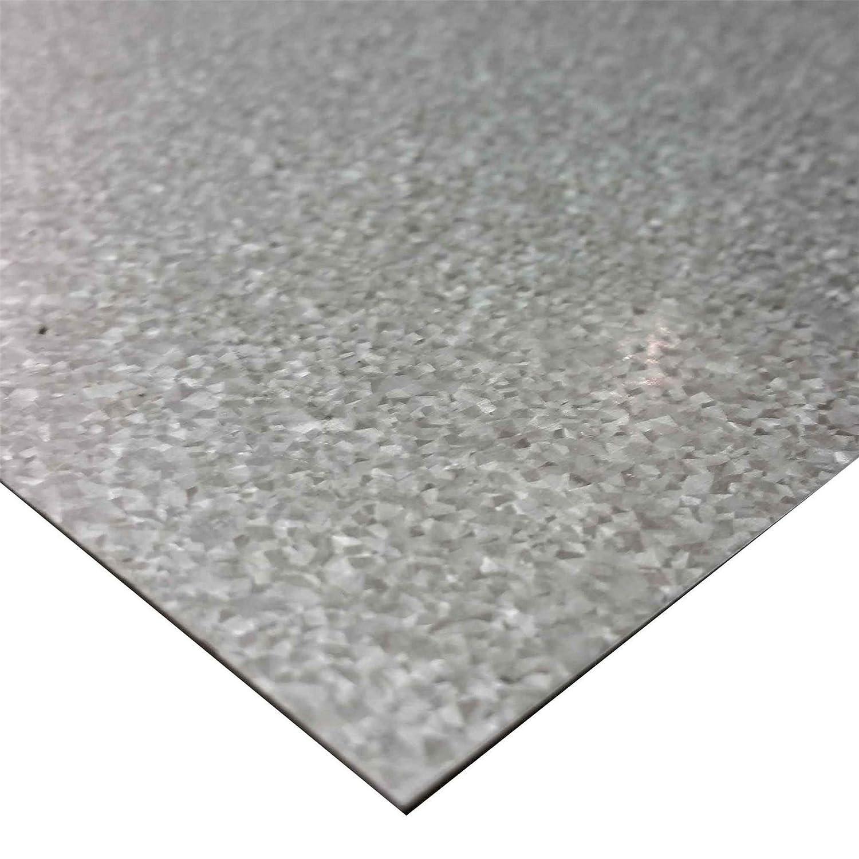 "G90 Galvanized Steel Sheet (24 ga.) .024"" x 24"" x 48"""