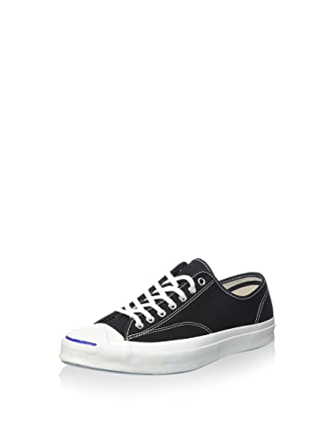 4e7cd63e3402 Converse Jack Purcell Signature Low Top Sneakers 147560C Black 11.5 B(M) US  Women