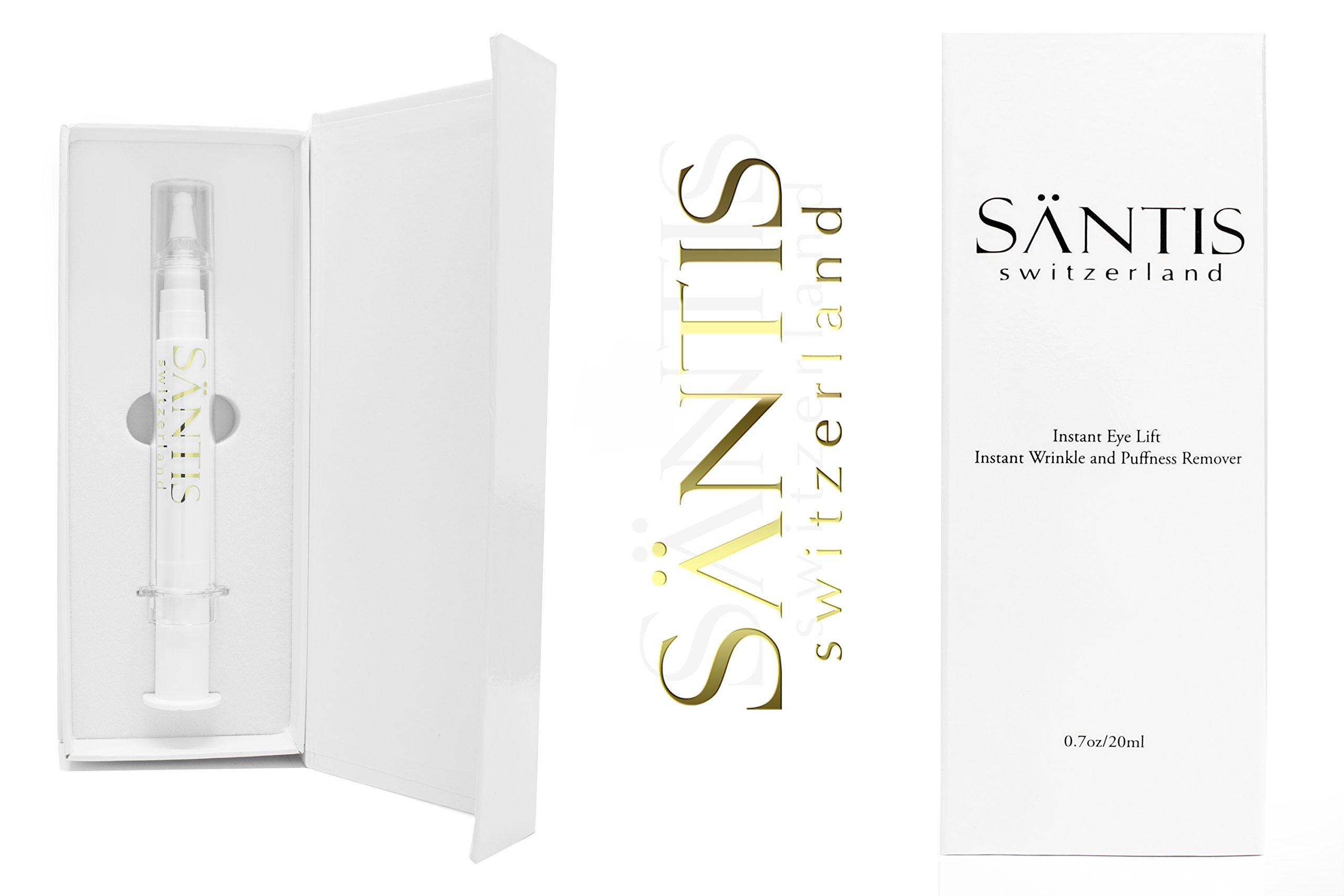Santis Botox Alternative Anti Wrinkle Filler Kit Contain Cellular Serum & Filling Cream Tightens Skin Instantly & Painlessly - Eliminates Age Spots, Dark Circles, Smoothens Fine Lines