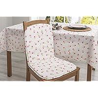 FAVORE CASA NAZLI Sırtlıklı Sandalye Minderi 80x40 cm Somon