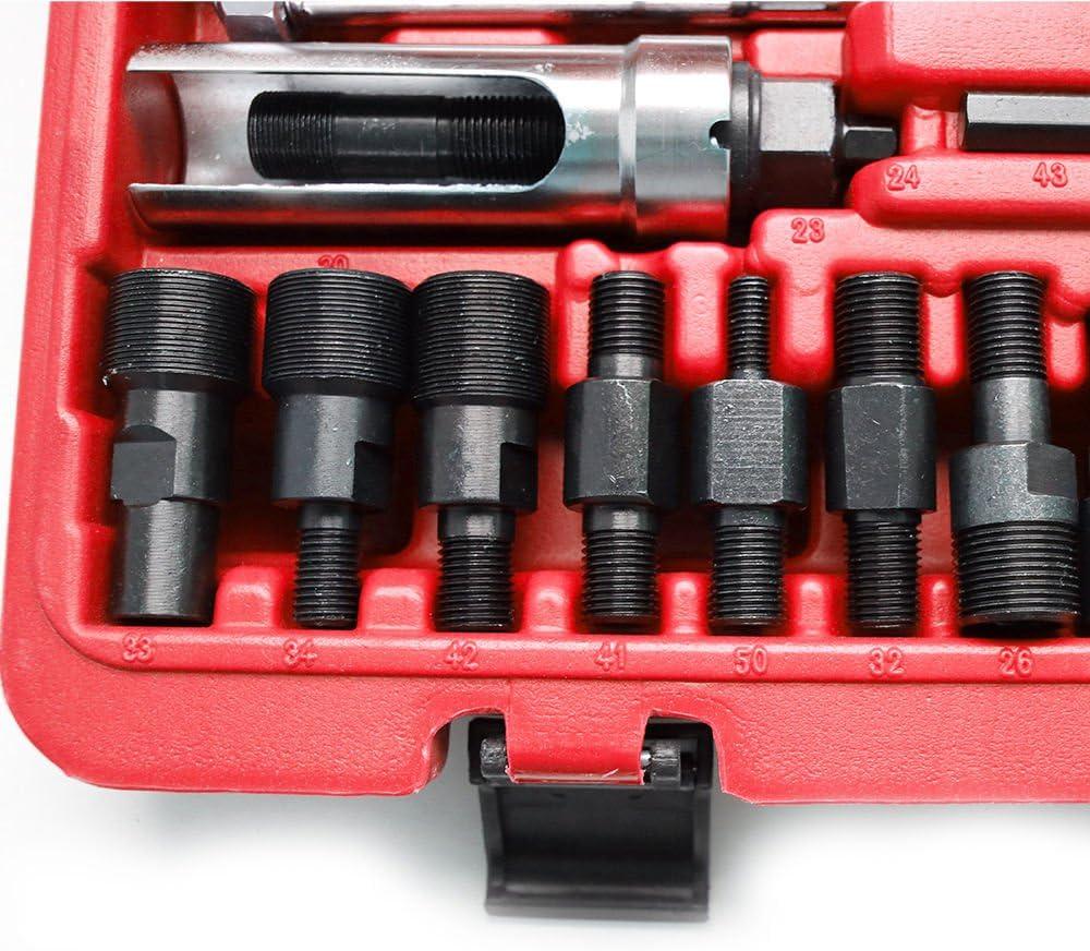 3 martillos deslizantes y 2 extractores de Garras Adecuado para el desmontaje de la mayor/ía de inyectores di/ésel WUPYI2018 Juego de extractores de inyectores di/ésel