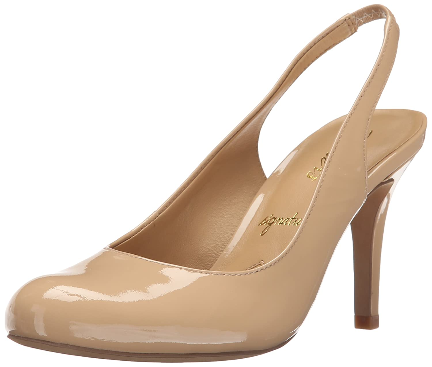 Trotters Women's Gidget Dress Pump B011EZNYJI 9.5 W US|Nude