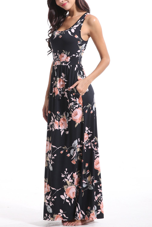 Zattcas-Women-Floral-Tank-Maxi-Dress-Pocket-Sleeveless-Casual-Summer-Long-Dress