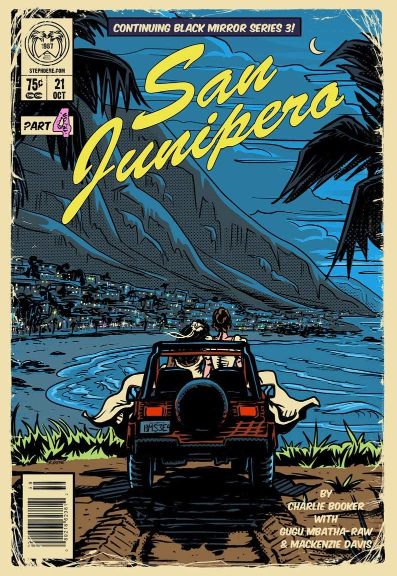 North Shine San Junipero Art Print Gift Poster for Fan Poster Home Art Wall Posters [No Framed]