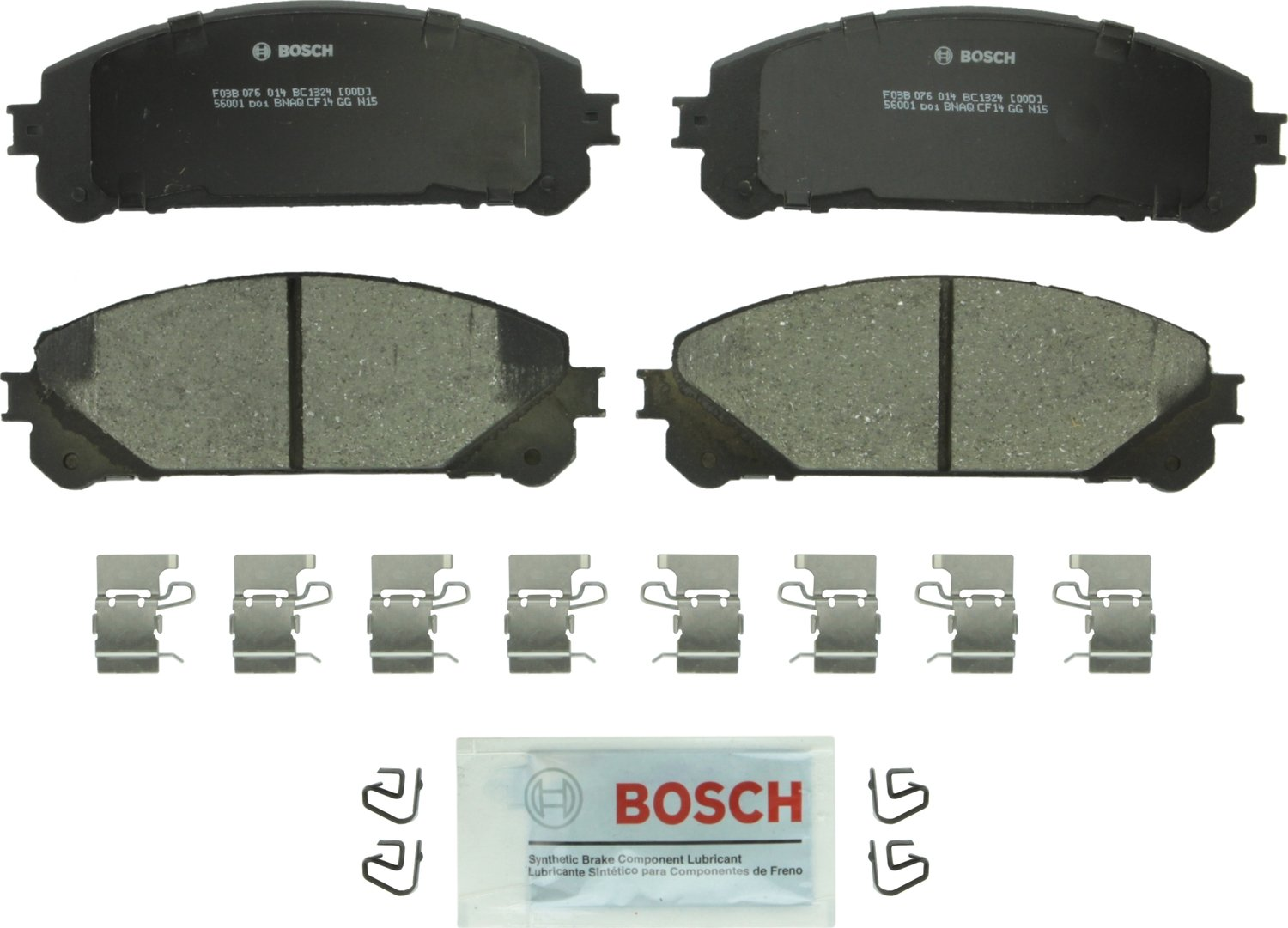 Bosch BC1324 QuietCast Premium Disc Brake Pad Set