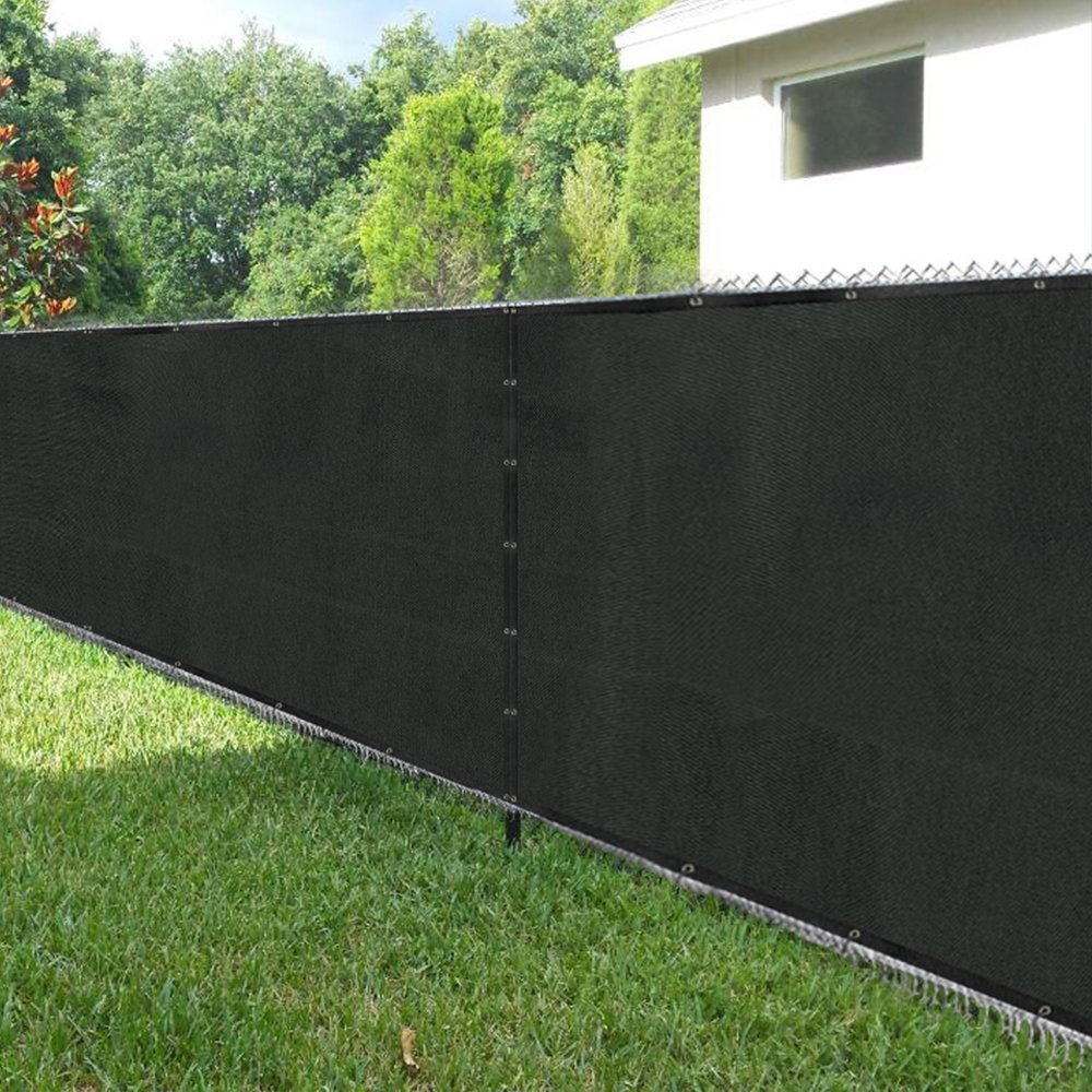 Artouch Fence Screen 4' x 50' with Brass Grommets, Heavy Duty Fencing Mesh Shade Net Cover for Wall Garden Yard Backyard Indoor Outdoor
