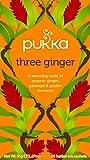 Pukka Organic Three Ginger Tea Bags - 20 sachets, 36g