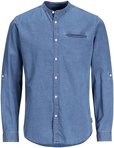 Jack & Jones – Camisa Benny Denim Azul Large: Amazon.es: Ropa y accesorios