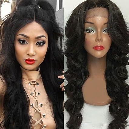 S-noilite Tablón Full pelucas de encaje brasileño Virgen Pelo Humano hecho a mano encaje