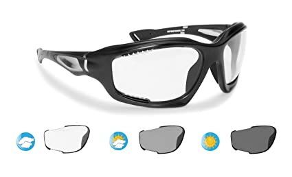 418ca989c621 Bertoni Sport Photochromic Antifog Sunglasses cat. 0-3 for Cycling Running  Golf Ski Watersports
