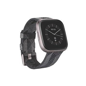 Fitbit Versa 2, Edición Especial, el smartwatch que te ayuda a mejorar la salud y la forma física, y que incorpora control por voz, puntuación del ...