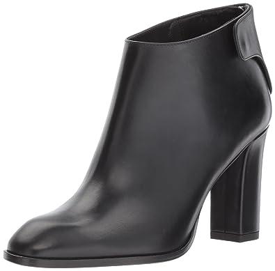 Via Spiga Women's Aston Bootie Ankle Boot, Black Leather, 10 Medium US