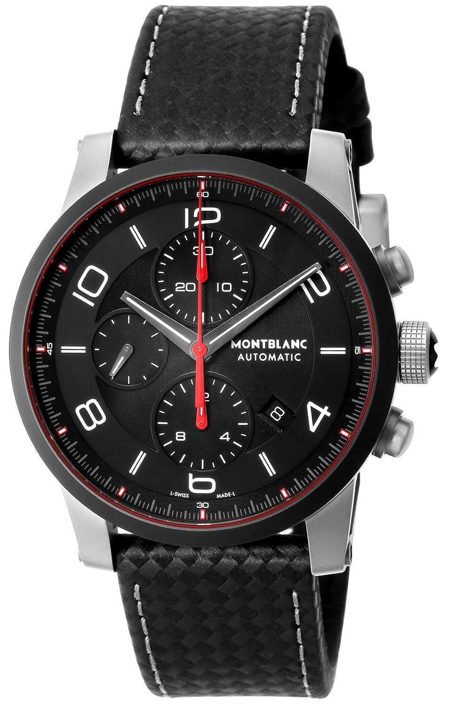 [モンブラン]MONTBLANC 腕時計 TimeWalker ブラック文字盤 自動巻き 112604 メンズ 【並行輸入品】 B075DG7S7J