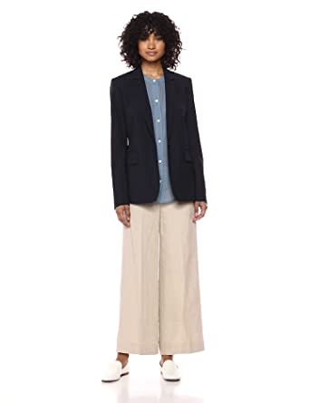 f9e66fe2ee5 Amazon.com: Theory Women's Classic One Button Essential Jacket: Clothing