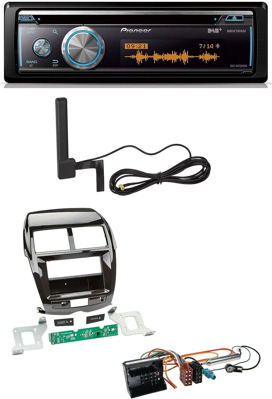 Caraudio24 Pioneer Deh Tuner Bluetooth Dab Mp3 Usb Cd Elektronik