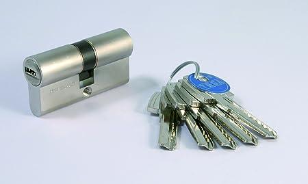 Tesa Assa Abloy, T6553045N, Cilindro de Seguridad, T60, Leva Larga ...