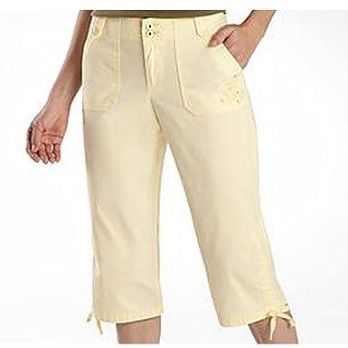 Gloria Vanderbilt Women's Plus Size Tyra Capris at Amazon Women's ...