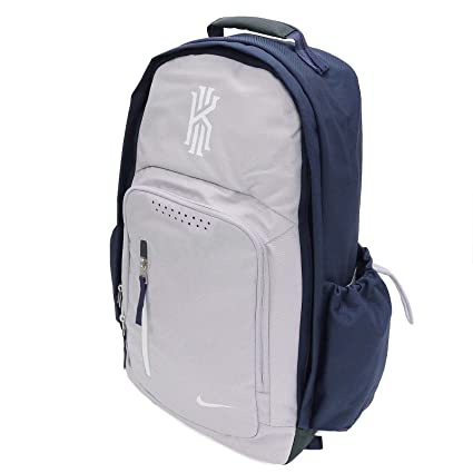 8357756a6b Amazon.com  Nike mens KYRIE BACKPACK BA5133-012 - WOLF GREY MIDNIGHT  NAVY WHITE  Sports   Outdoors
