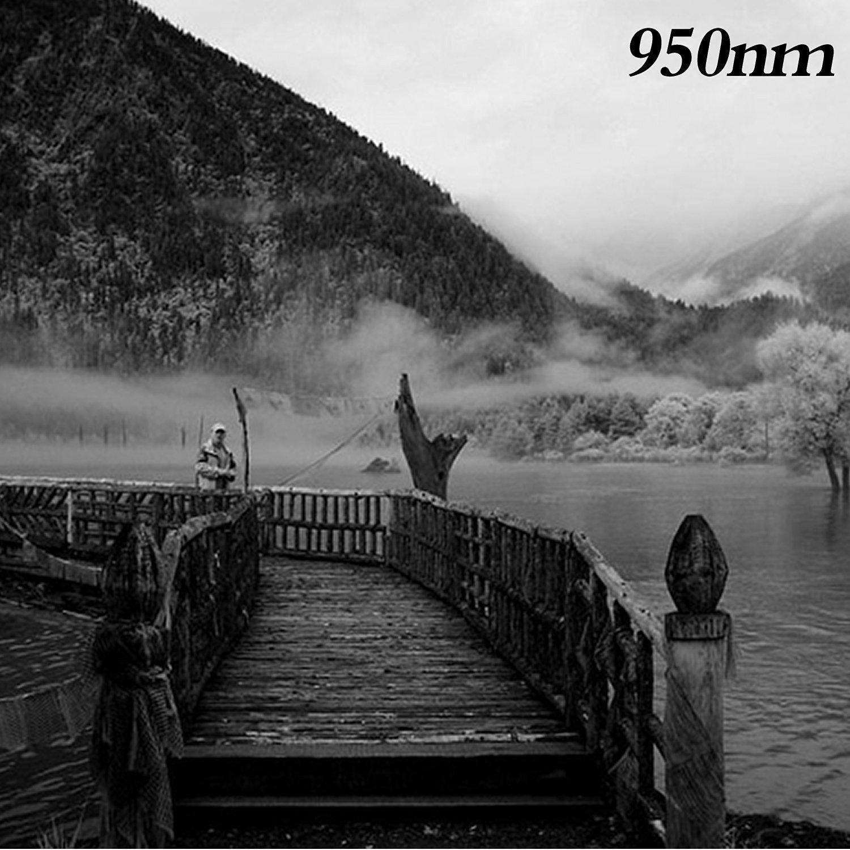 Flycoo ZOMEI IR 760 nm 67mm Filtre Infrarouge en Verre Politique Rayon X Filtre dObjectif Lentille pour Canon Nikon Sony Fuji etc DSRL SRL appareil photo Digital Cam/éra