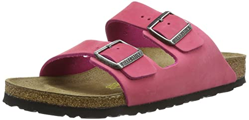 fb3bd7bd6cfb Amazon.com  Birkenstock Sandals   Arizona   from Leather in Pink ...
