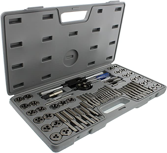 Best Tap and Die Set: ABN 60 Piece SAE and Metric Standard