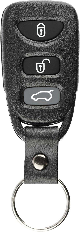 KeylessOption Keyless Entry Remote Control Car Key Fob Alarm Clicker for Hyundai Accent Elantra GT TQ8-RKE-3F03