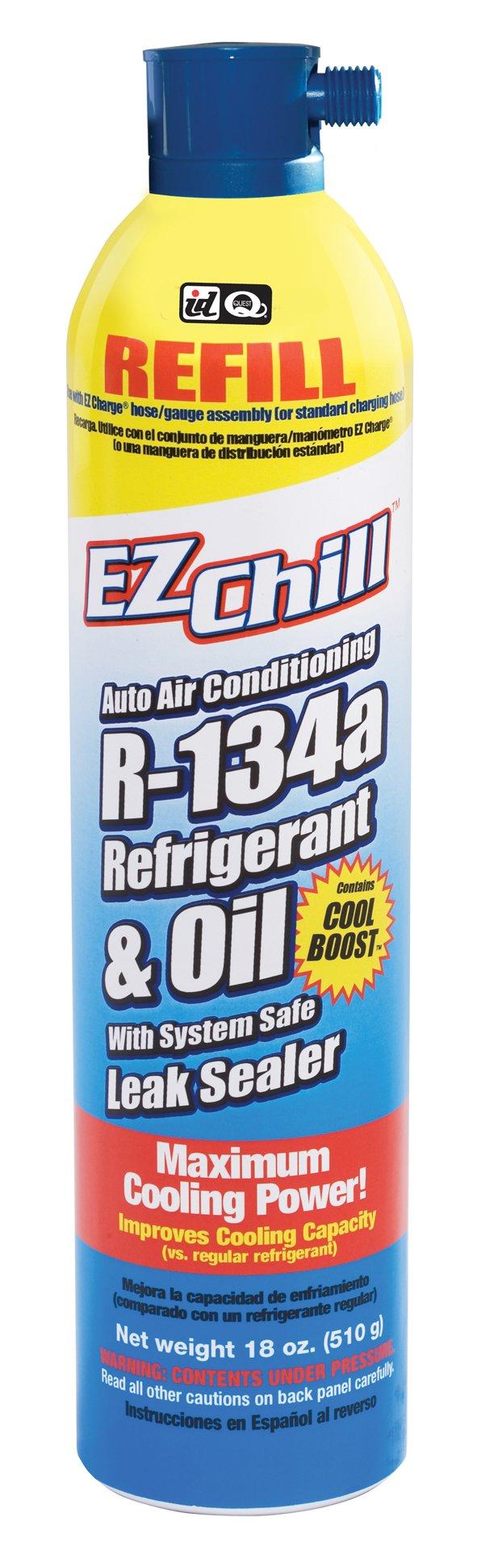 Interdynamics EZ Chill Automotive Refrigerant R-134a (18 ounces), MAC-134RFL by Interdynamics