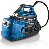 Rowenta DG9222F0 Silence Steam Pro - Centro de planchado, autonomía ilimitada de 7,5 bares, golpe de vapor 450 g/min…