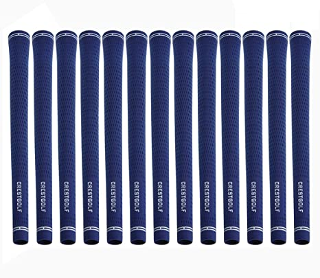 Crestgolf 13pcs/pack de agarre de golf tamaño estándar Golf Golf Golf Golf utilizado para hierro o madera agarraderas equipo de golf, azul