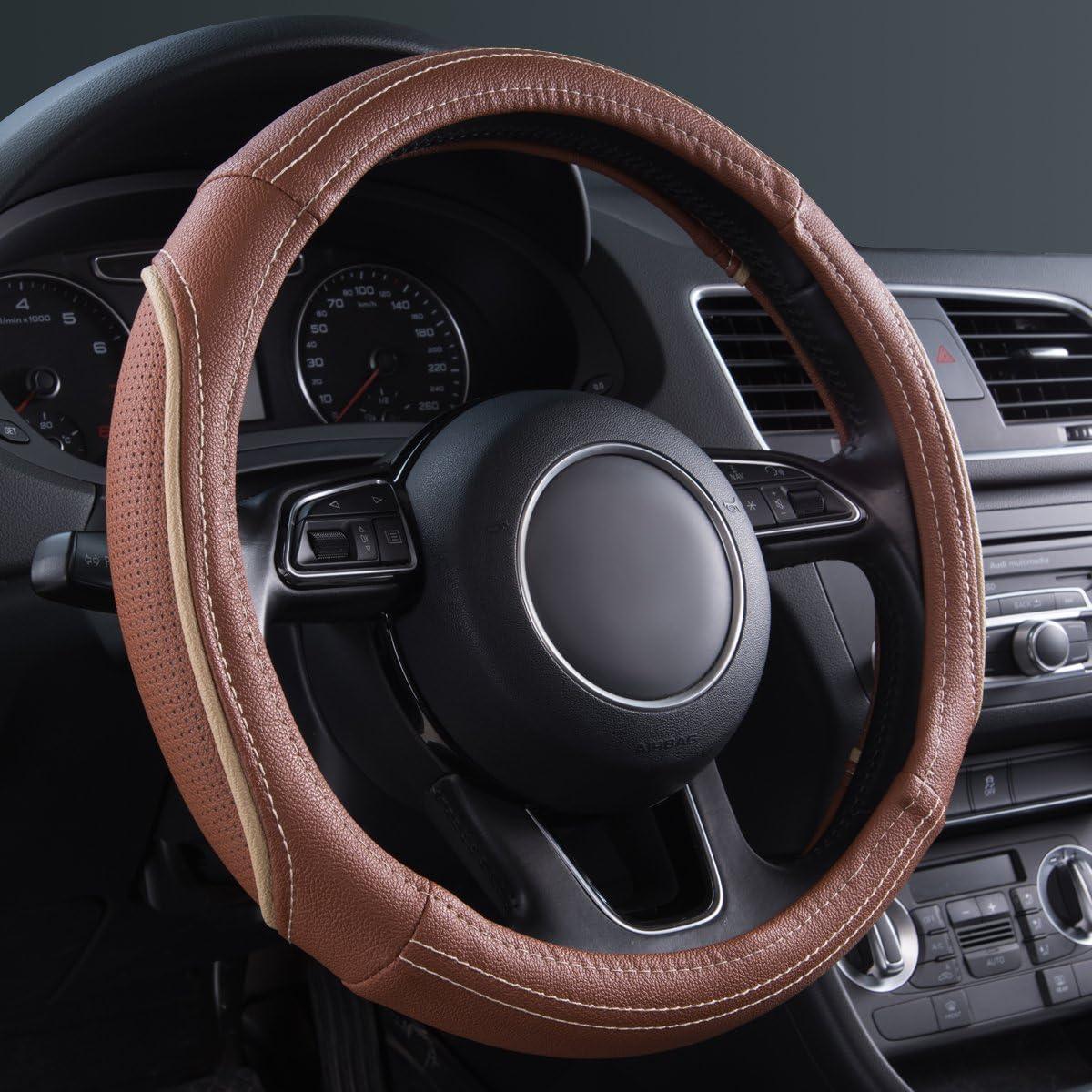 CAR PASS Universal para Volante de Coche DE 35,5 a 38 cm para Furgonetas SUV