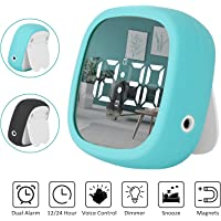 Shayson Reloj Despertador Viaje Digital Portatil, Despertador Electrónico