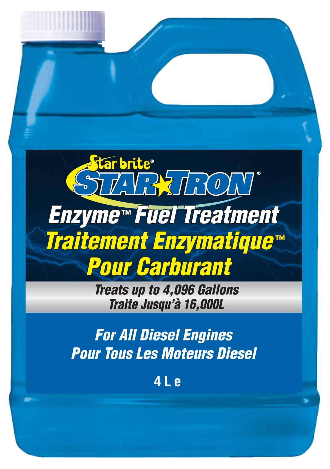 Star brite 093100N Concentrated Diesel Formula 931 Tron Enzyme Fuel Treatment, 1 gallon