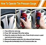 Digital Tire Pressure Gauge 150 PSI with