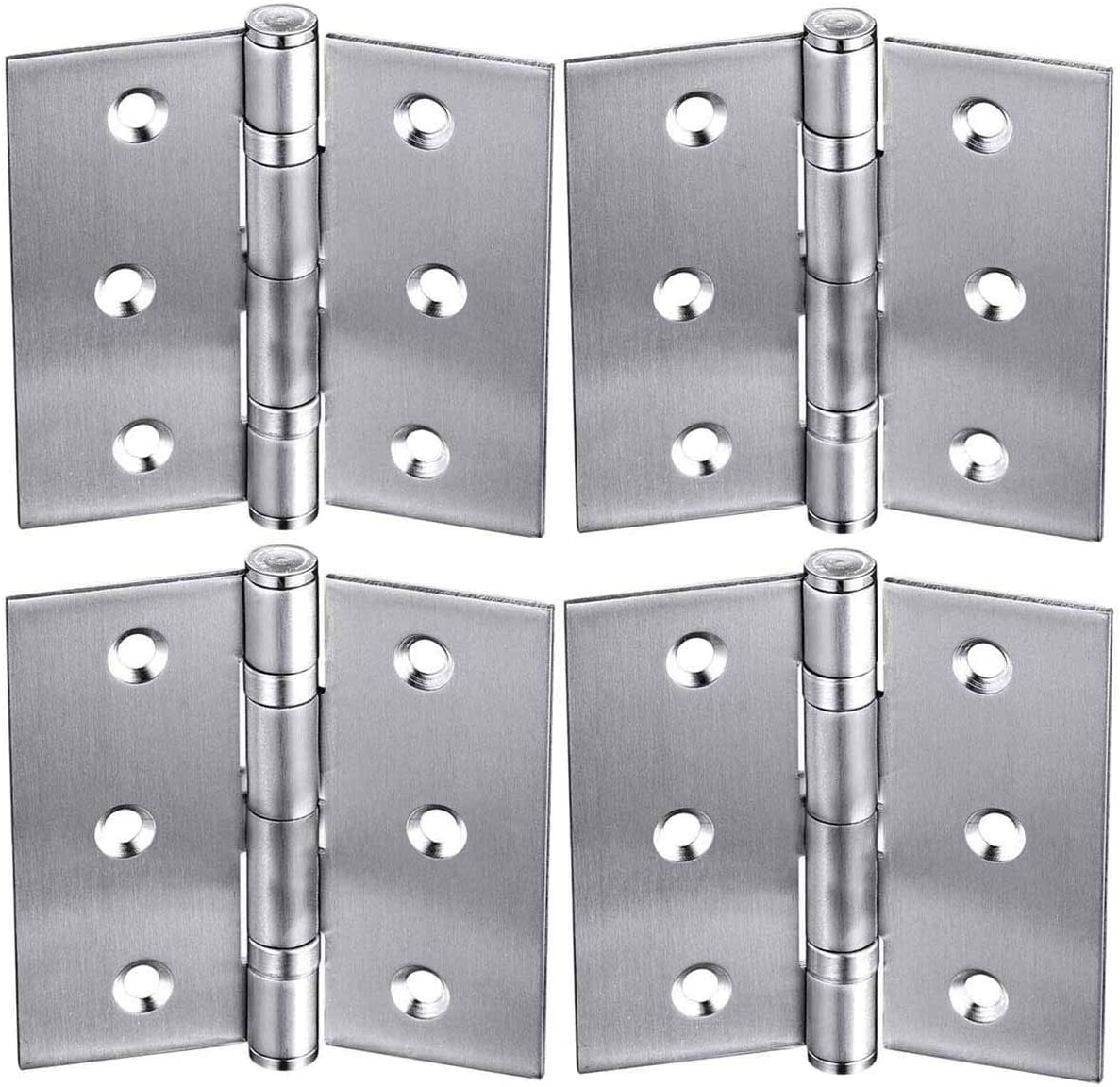 2.5 pulgadas Bisagra plegable para puertas de armario 4 paquetes