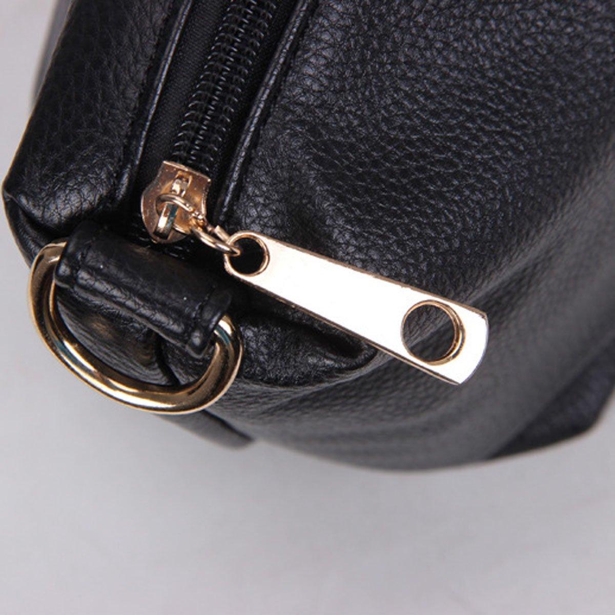 ADEMI ADEMI ADEMI Frauen Arbeiten Schulter-Handtasche Beutel Zwei Beutel Echten PU-Leder-Tasche MultiFarbe B0745J61GQ Henkeltaschen Angemessene Lieferung und pünktliche Lieferung 2e4a2a