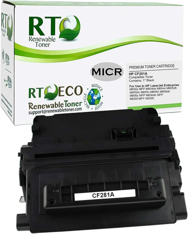 Black Alternative for HP 81X Elite Image MICR Toner Cartridge